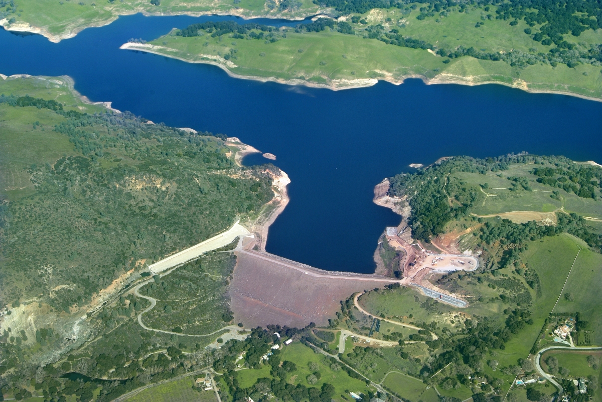 Anderson Dam Seismic Retrofit Project Pending Alternative