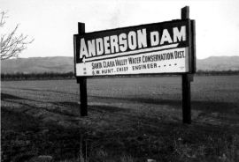 The structure was named after key founder and first president of the water district, Leroy Anderson.