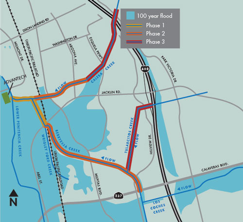 Flood protection project to resume in Milpitas – Valley Water News