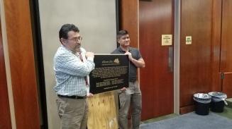 Tony and ed purification plaque