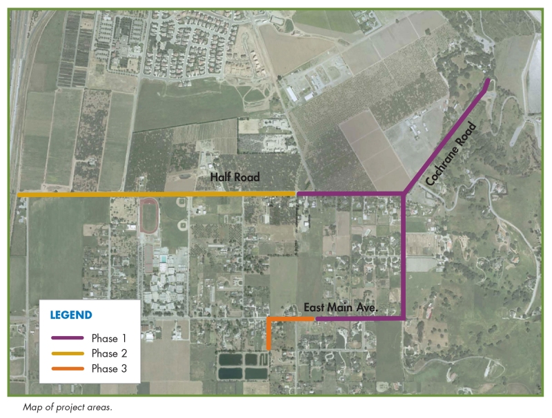 Main Ave_Madrone Pipeline Restoration Project_Phase map.jpg