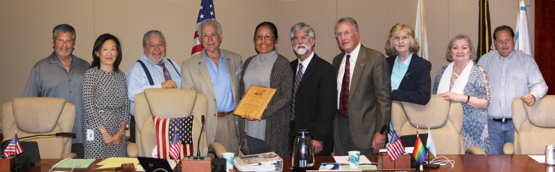 Water District Board and Board members of Friends of the Estruary