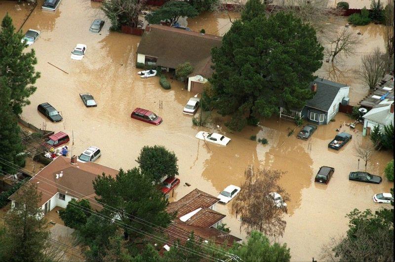 San Francisquito Creek Flooding