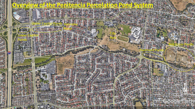 Penitencia Perc Pond Map