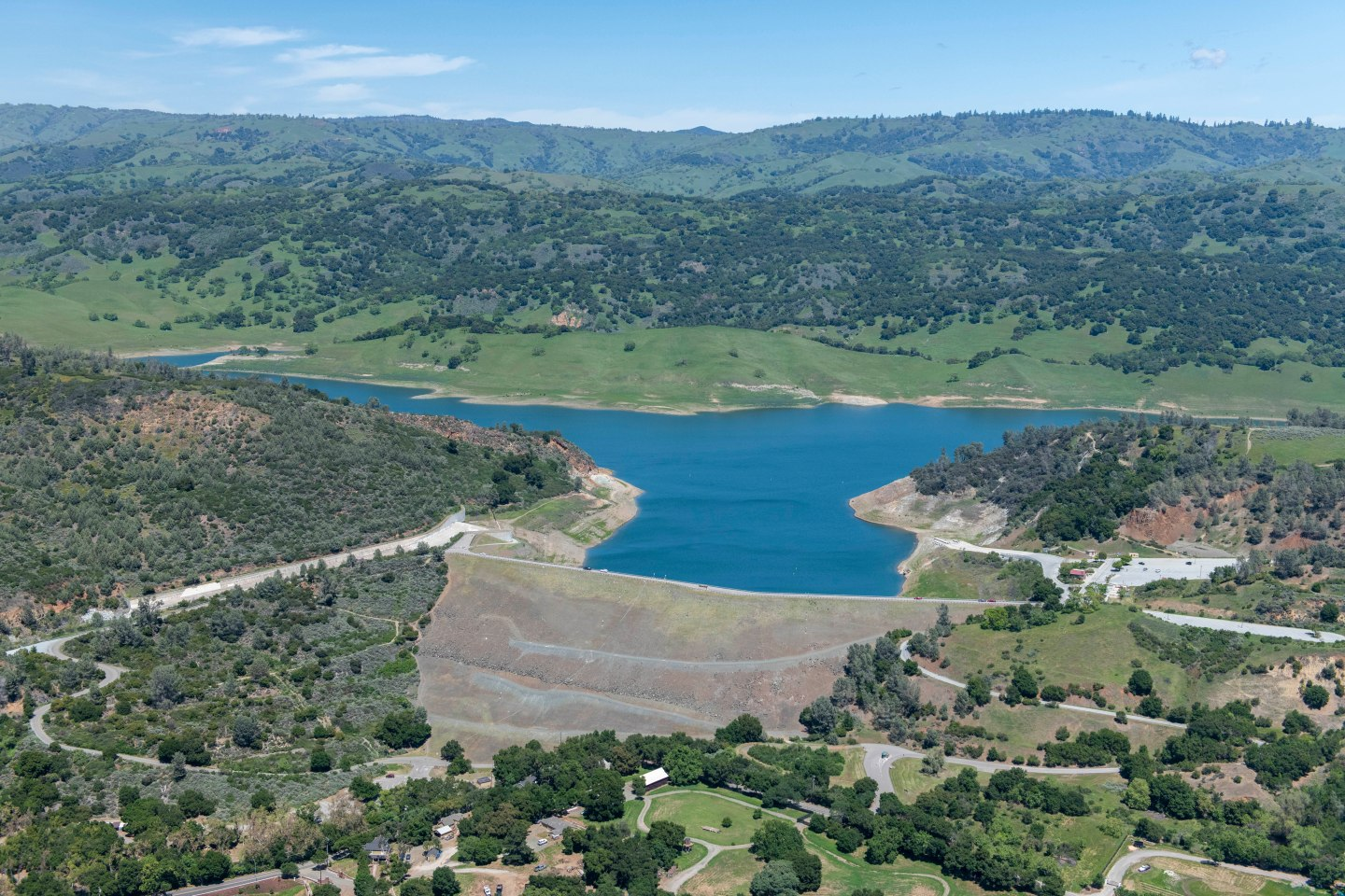 Anderson Dam aerial view