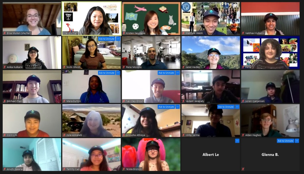 2020 - 2021 Youth Commission Virtual Meeting